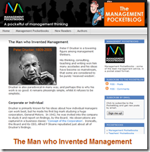 The Man who Invented Management