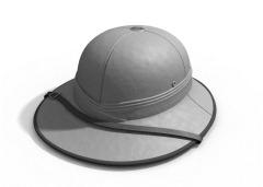 Grey Thinking Hat of Wisdom