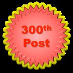 300th Post