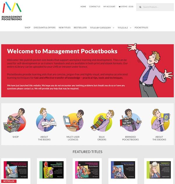 New Management Pocketbooks website