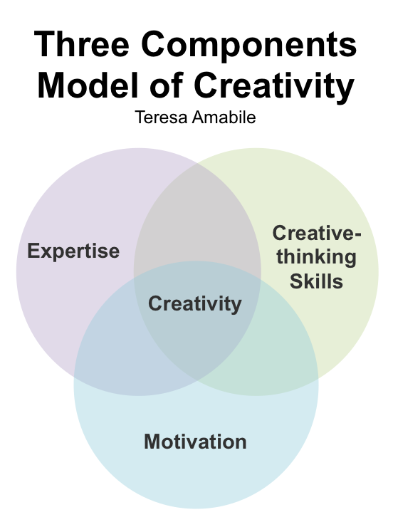 Teresa Amabile - Three Components of Creativity