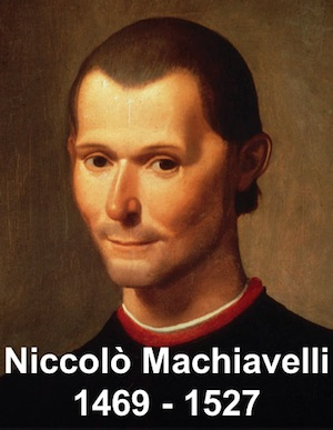Niccolò Machiavelli 1469-1527