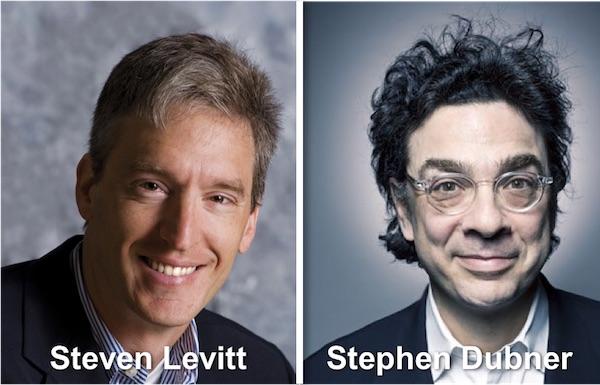 Steven Levitt & Stephen Dubner