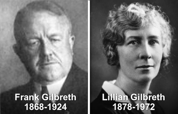 Frank Gilbreth & Lillian Gilbreth