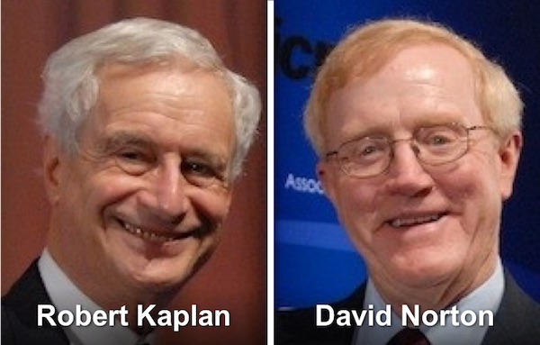 Robert Kaplan & David Norton - Balanced Scorecard